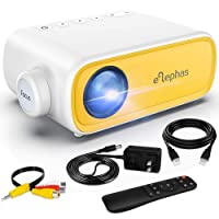 Deals on ELEPHAS Portable Projector for iPhone,