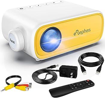Elephas Mini Portable Pocket Pico LED Projector