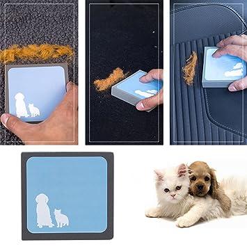 Limpiador de pelo Kelyn para mascotas, herramienta reutilizable para eliminar pelusas y pelusas para mascotas