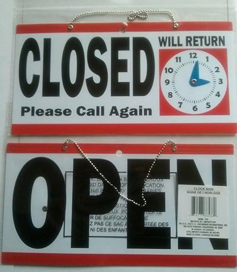 Amazon.com: 1 juego indefectible Popular abierto cerrado ...