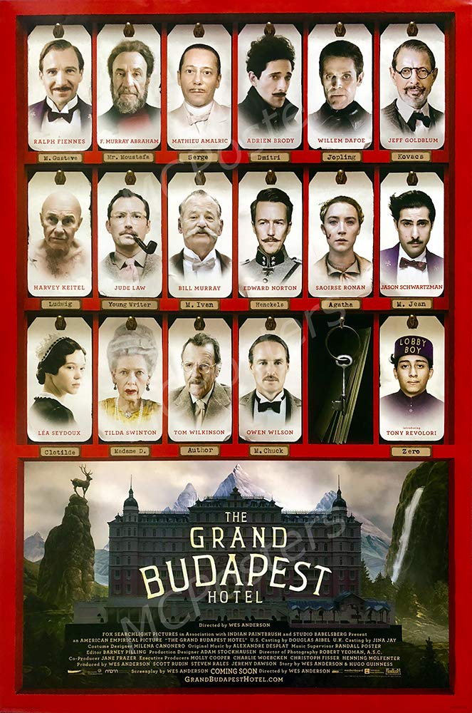 """MCPosters - The Grand Budapest Hotel Glossy Finish Movie Poster - MCP659 (24"""" x 36"""" (61cm x 91.5cm))"""
