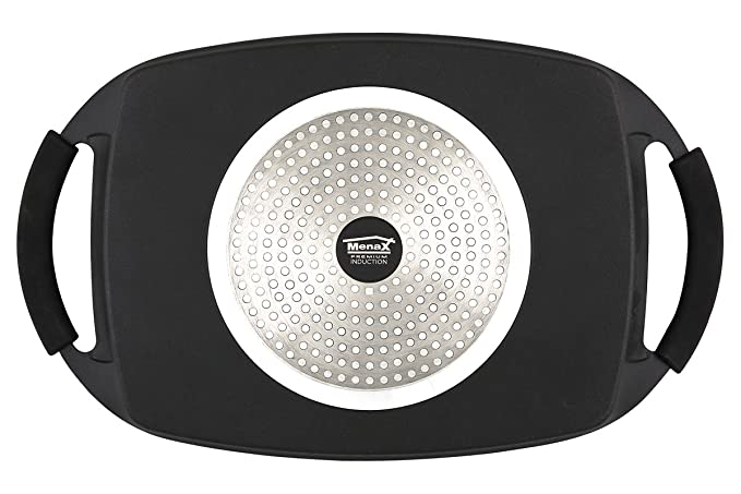 Infinity - Plancha de Asar - Aluminio Fundido Indeformable - (36*22 cm): Amazon.es: Hogar