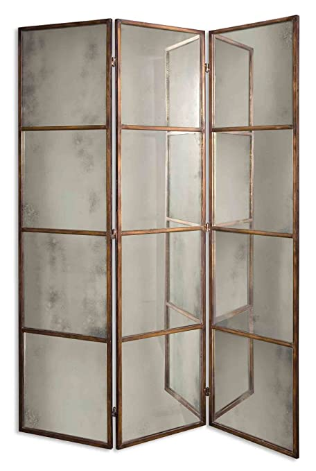 Amazon.com - Uttermost 13364 P Avidan - 3 Panel Screen Mirror ...