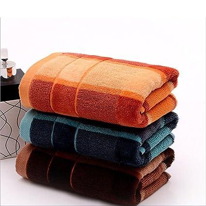 Toallas Paños de algodón de lujo suave de la cara 3 X Toallas de paño de