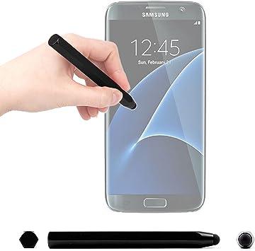 DURAGADGET Lápiz Stylus Negro para Smartphone Samsung Galaxy J5 ...