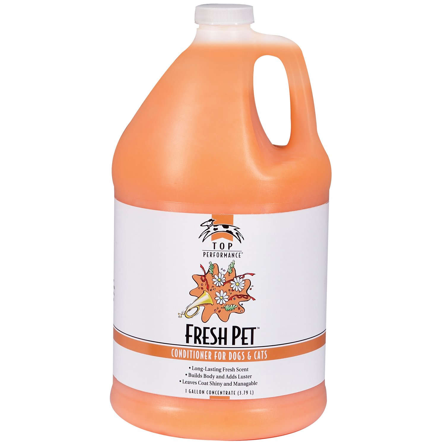 Gallon Top Performance TP563 91 Fresh Pet Conditioner, 1-Gallon