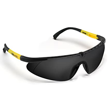 93c8f27f69 ANSI Approved Safety Glasses with Anti Fog Scratch Resistant Lenses- Heavy  Duty Nylon Frames