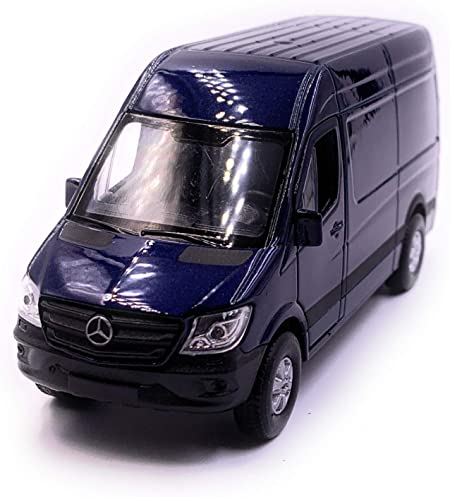 H-Customs Mercedes Benz Sprinter Modellauto Auto Lizenzprodukt 1:34-1:39 Grau