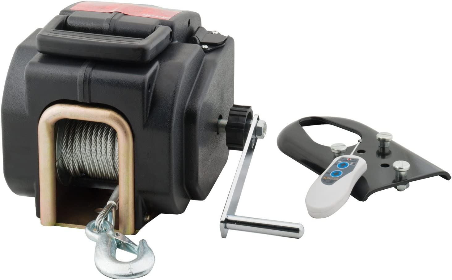 Pro-Lift I-9635 Grey Remote Control Electric Winch-3500-Pound Capacity