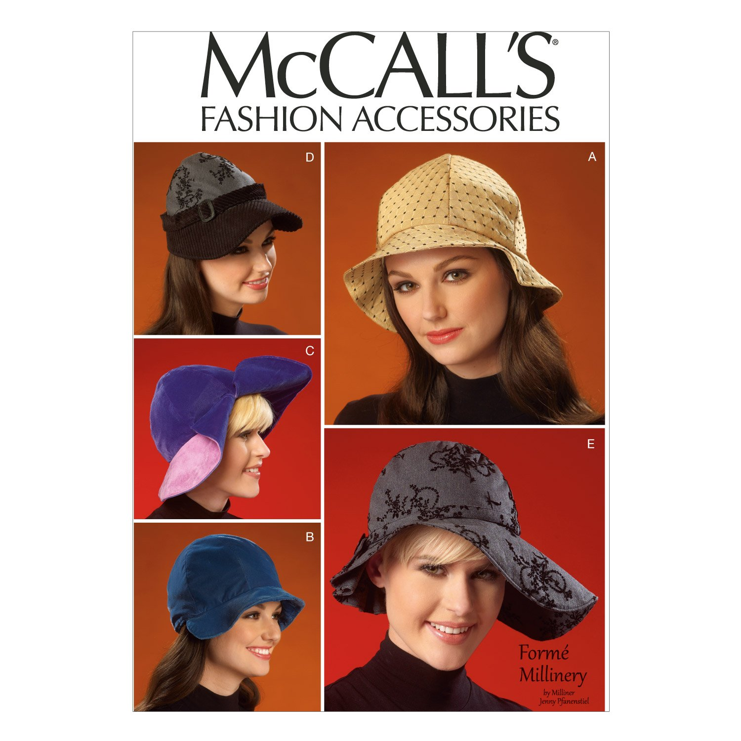 cb6012bf9b9 McCall s Patterns M7030 Hats