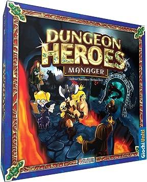 Giochi Uniti GU176 - Dungeon Heroes Manager - Juego de Mesa: Amazon.es: Juguetes y juegos