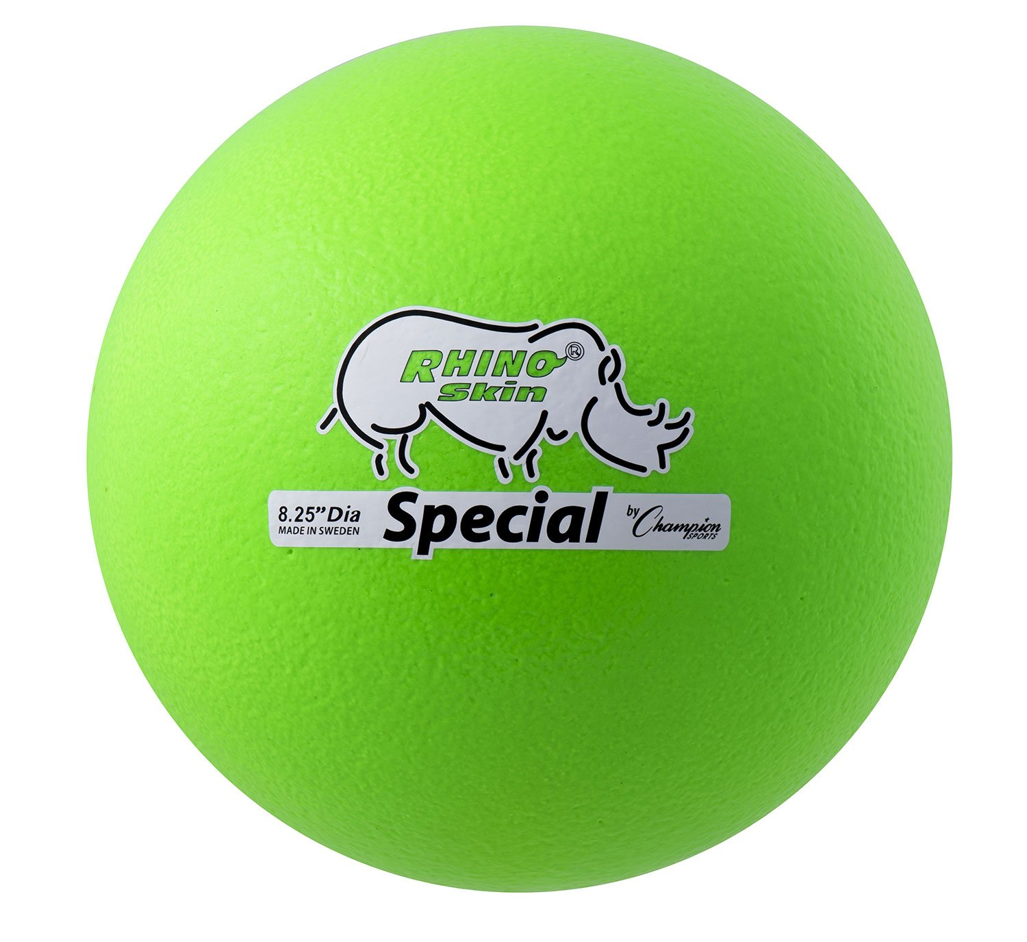 Champion Sports Rhino Skin Special Ball (Neon Green) by Champion Sports