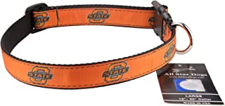 product image for All Star Dogs Oklahoma State Cowboys Ribbon Dog Collar