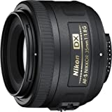 Nikon 35mm f/1.8G AF-S DX Lens for Nikon Digital SLR Cameras (Certified Refurbished)