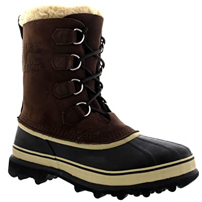 b2b83457bfe5b Amazon.com | Mens Sorel Caribou Fleece Lined Snow Mid Calf Winter  Waterproof Boots | Snow Boots