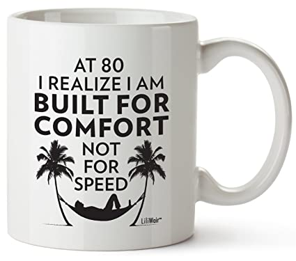 80th Birthday Gifts For Women Eighty Years Old Men Gift Mugs Happy Funny 80 Mens Womens