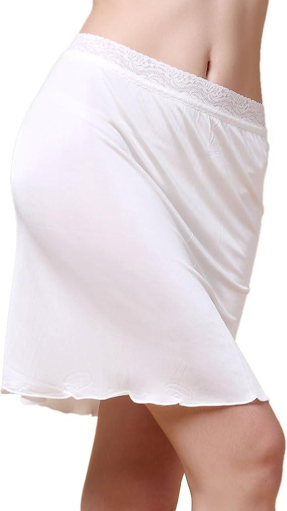 New womens underskirt chemise under ex BHS skirt slippetticoat satin 10-20