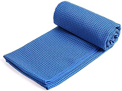 Amazon Com Holzkary All In One Yoga Mat Non Slip Texture Yoga Mat Towel Combo Sweat Absorbent Best For Yoga Pilates Exercise Workout Bikram And Hot Yoga 183x63x3cm Blue Sports Outdoors
