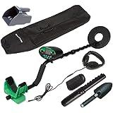 Treasure Cove TC-9800 Fast Action Digital Pro Metal Detector Set with Bonus Handheld Pinpointer