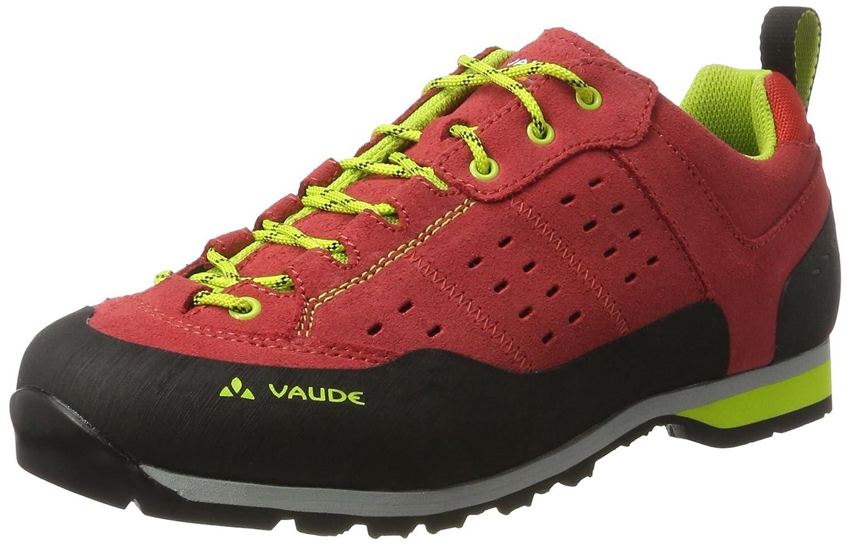 VAUDE Men's Dibona Advanced, Zapatos de Low Rise Senderismo para Hombre 44 EU|Rojo (Red)