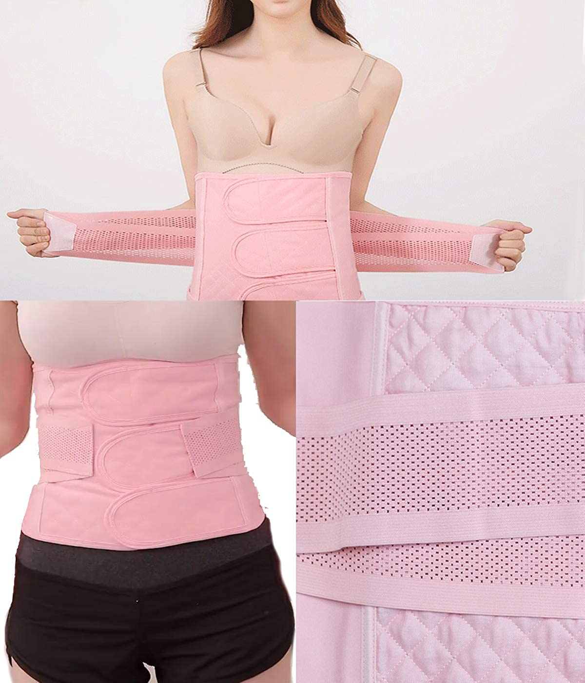 Women Postpartum Belly Wrap Band C Section Recovery Girdle Belt Support Post Partum Waist Trainer Binder After Pregnancy