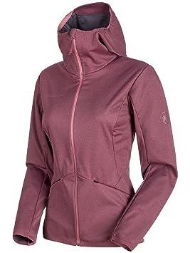 Mammut Ultimate V Tour SO - Coats & Jackets (Granate, Adulto, Femenino,