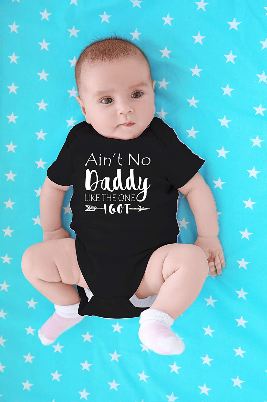 Ain/'t No Daddy Like the ONE i got Baby Onesie Baby Gift Daddy Boys Personalized  TshirtONESIE Baby Clothing