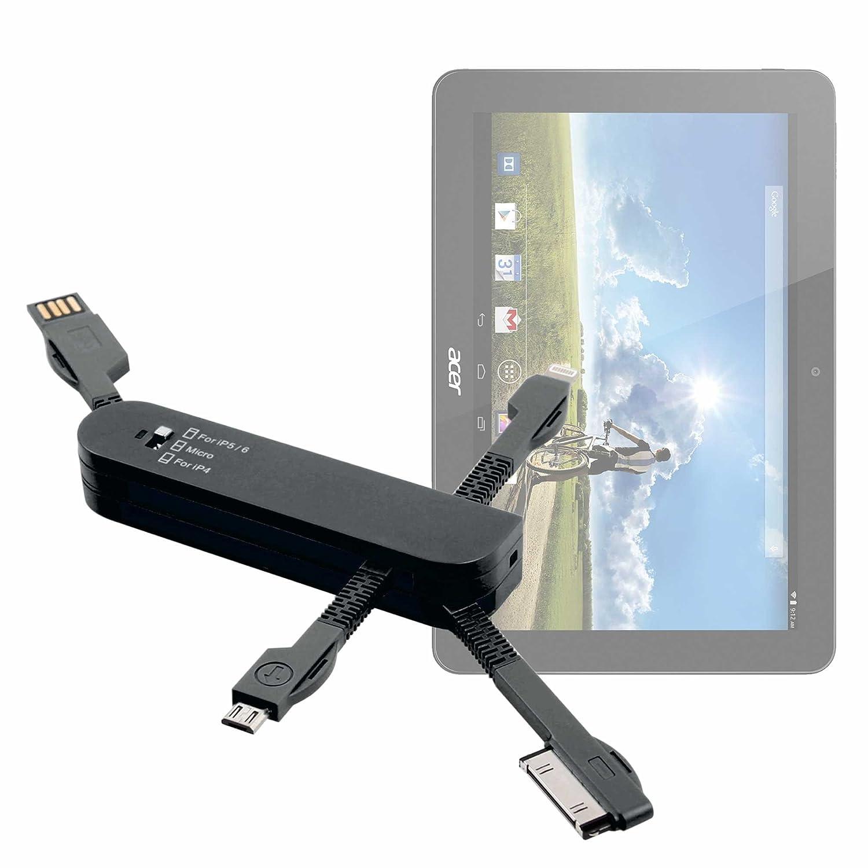 DURAGADGET Multi-Cargador Rosa para Tablet Acer Iconia Tab ...