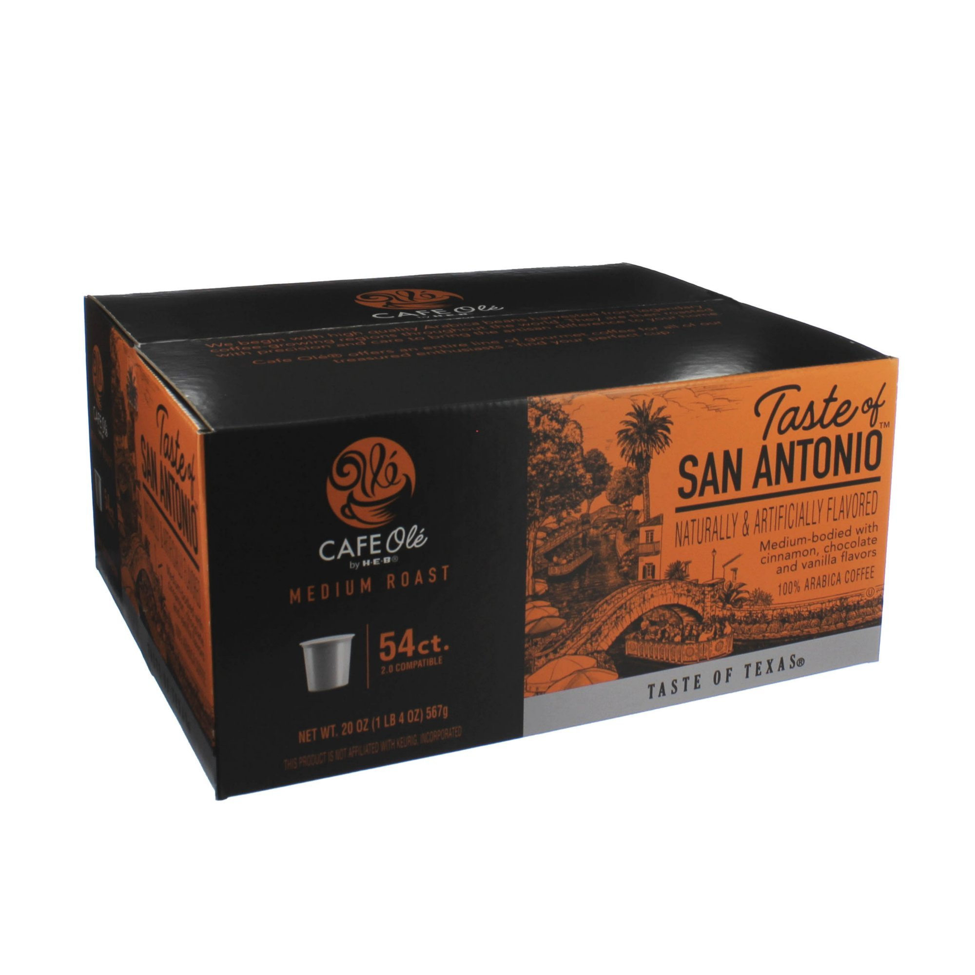 Heb Cafe Ole Coffee K Cup 12ct Box Pack Of 4 48 K Cups