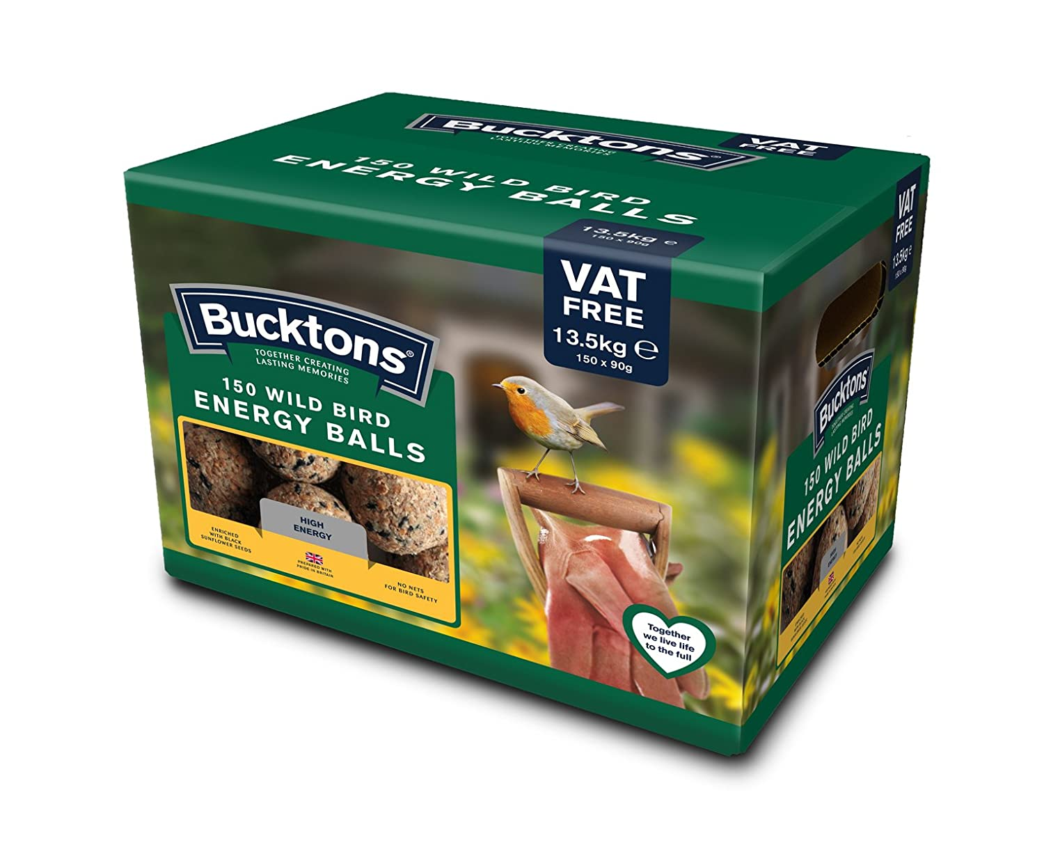 Bucktons Fat/Energy/Suet Balls, Pack of 150 Westland Horticulture Ltd 100195