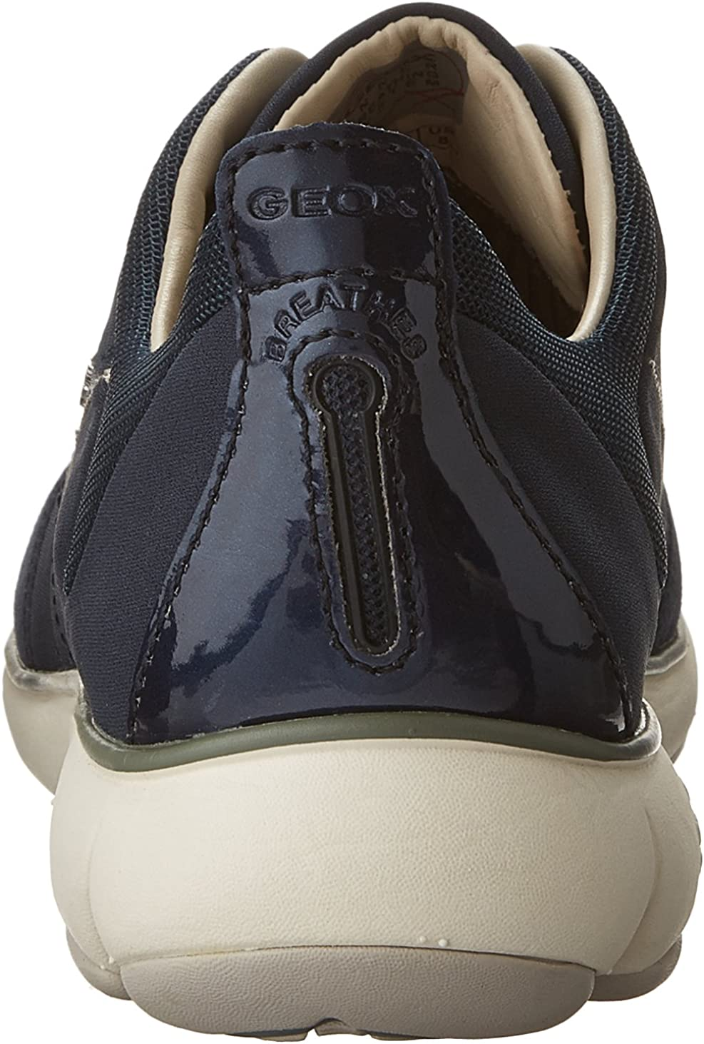 Geox Women's Wnebula9 Fashion Sneaker Navy