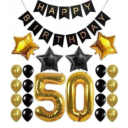 Juego de 23 piezas de 30/40 / 50/60 cumpleaños decoraciones ...
