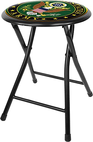 United States Army Cushioned Folding Stool, 18