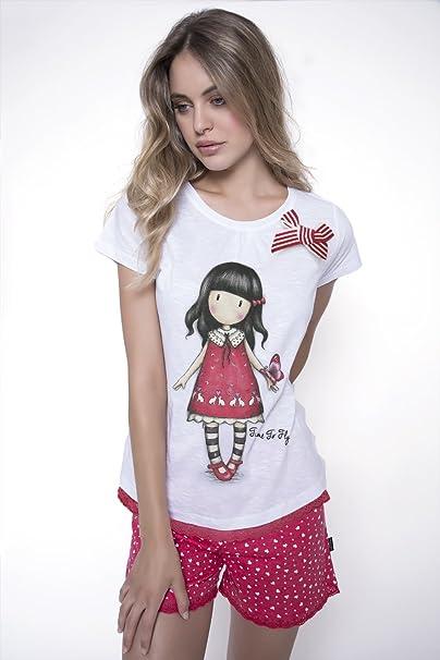 SANTORO Pijama GORJUSS Corto Chica Mujer