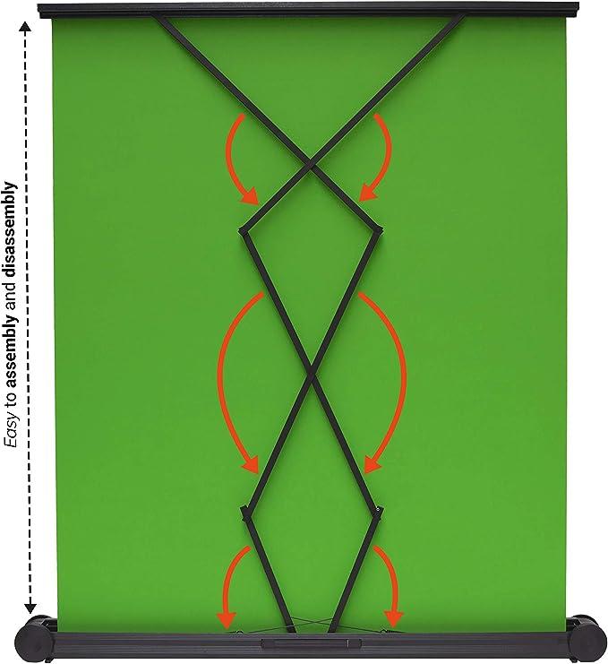 Celexon Tragbare Mobile Chroma Key Green Screen Elektronik