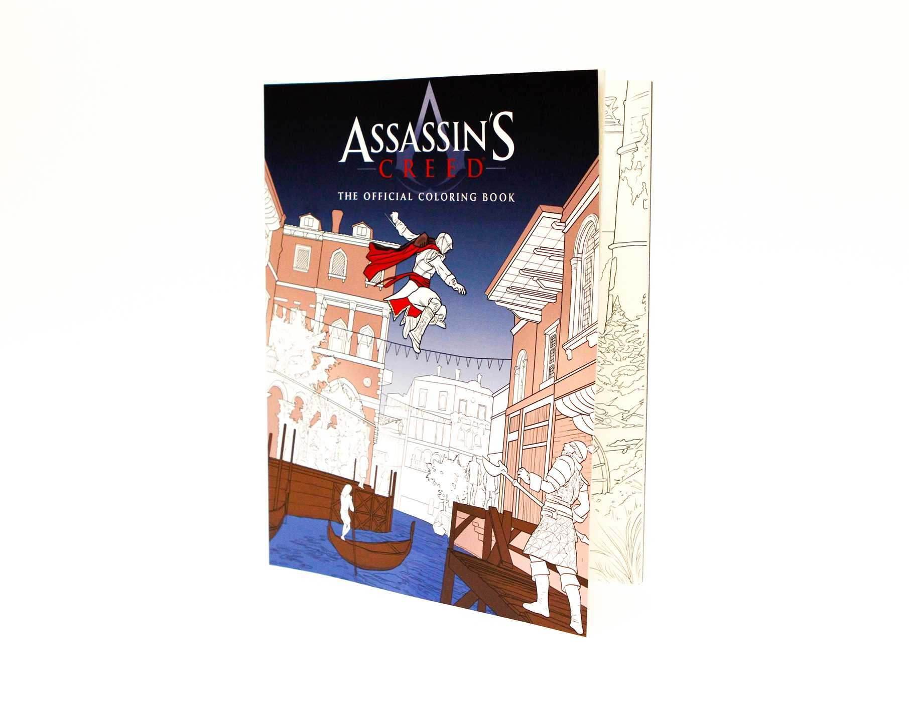 Coloring Pages For New Years 2016 : Assassin s creed the official coloring book insight editions