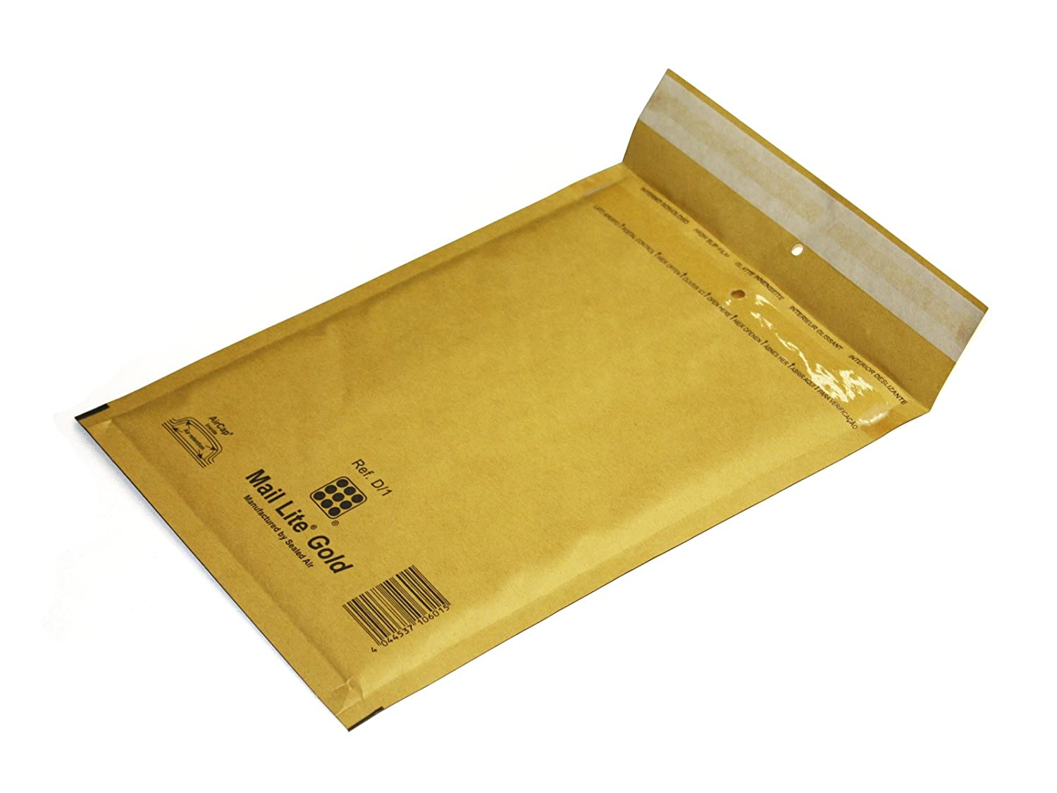 Mail Lite MLG AirCap padded bubble wrap envelopes size H/5  –  gold (pack of 50) Sealed Air 100330481 M4698