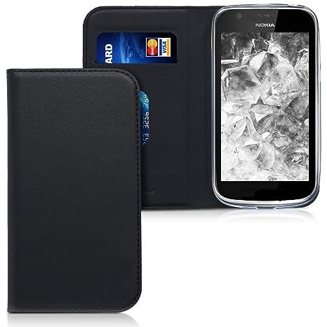 Amazon.com: kwmobile Flip Case for Nokia 1 - Smooth PU ...