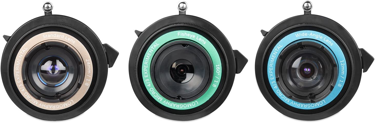 Lomography Experimental Lens Kit for Micro 4//3 Cameras