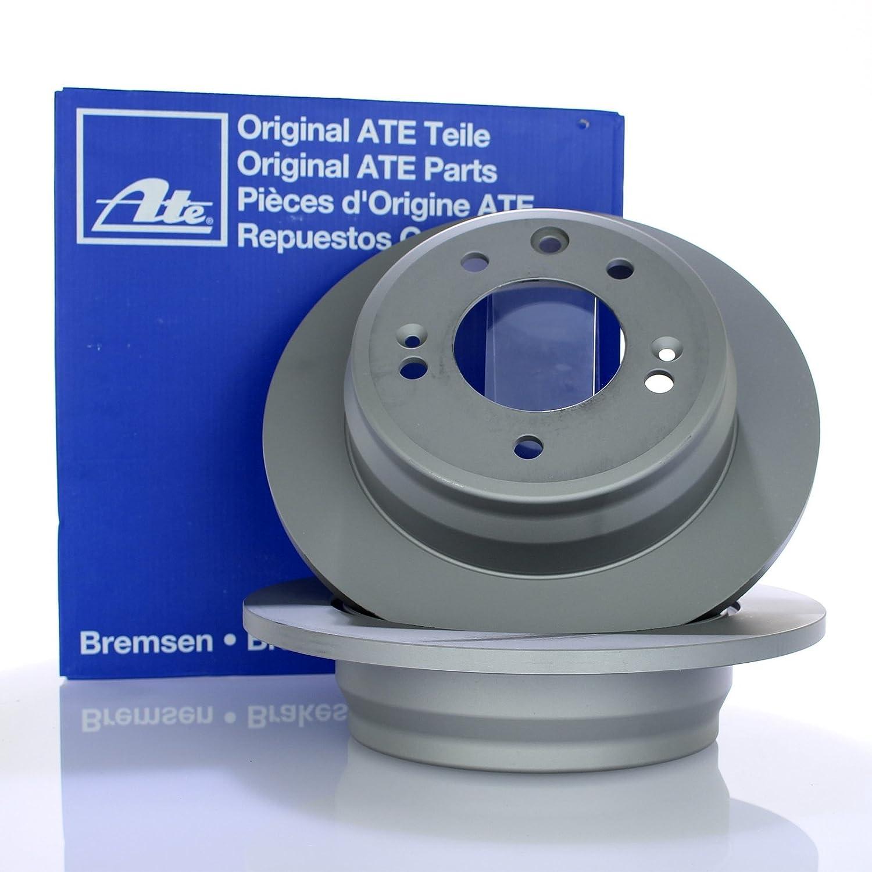 4 ATE Bremsscheiben /Ø280//262mm Bel/äge Vorne /& Hinten Bremskl/ötze Bremsenkit Komplettset Vorderachse Hinterachse