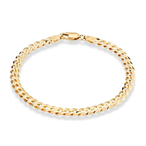 Jewellery & Watches Smart Ladies Gold Silver Plated Solid Band Ankle Bracelet