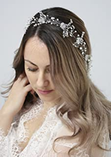 Aukmla Hair Chain Headpiece For Wedding And Party Amazon Co Uk
