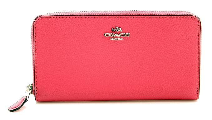 3fa55696fa12 COACH Accordion Zip Wallet at Amazon Women s Clothing store