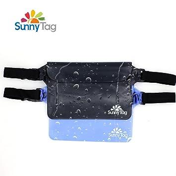 Amazon.com: Pack de 2 bolsa estanca con cintura/correa para ...