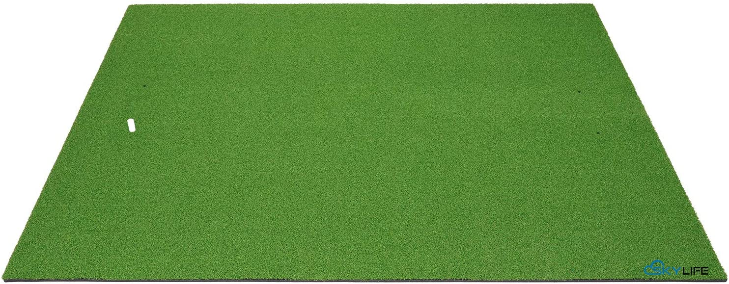 SkyLife Golf Practice Mat Driving Chipping Putting Hitting Turf Training Equipment for Backyard Home Garage Outdoor Use