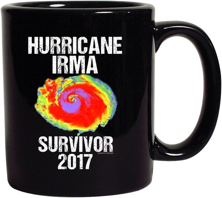 Hurricane Irma Survivor 2017 DT Coffee 11 Oz Black Mug
