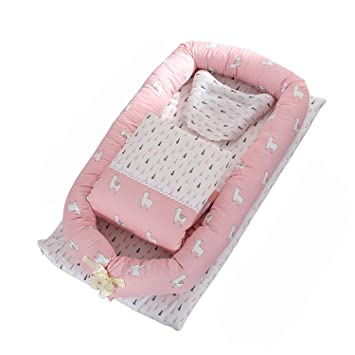 Amazon.com: Tumbona de bebé para recién nacido, portátil ...