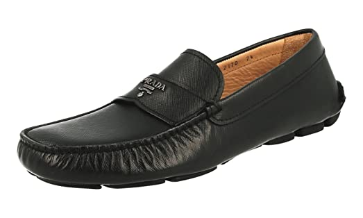 Men's 2D2170 053 F0002 Saffiano Leather Loafers