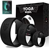 Seven Sparta Yoga Back Wheel Set 3 Pack Yoga Back Roller for Stretching, Back Pain, Backbends and Bodyweight Exercices…