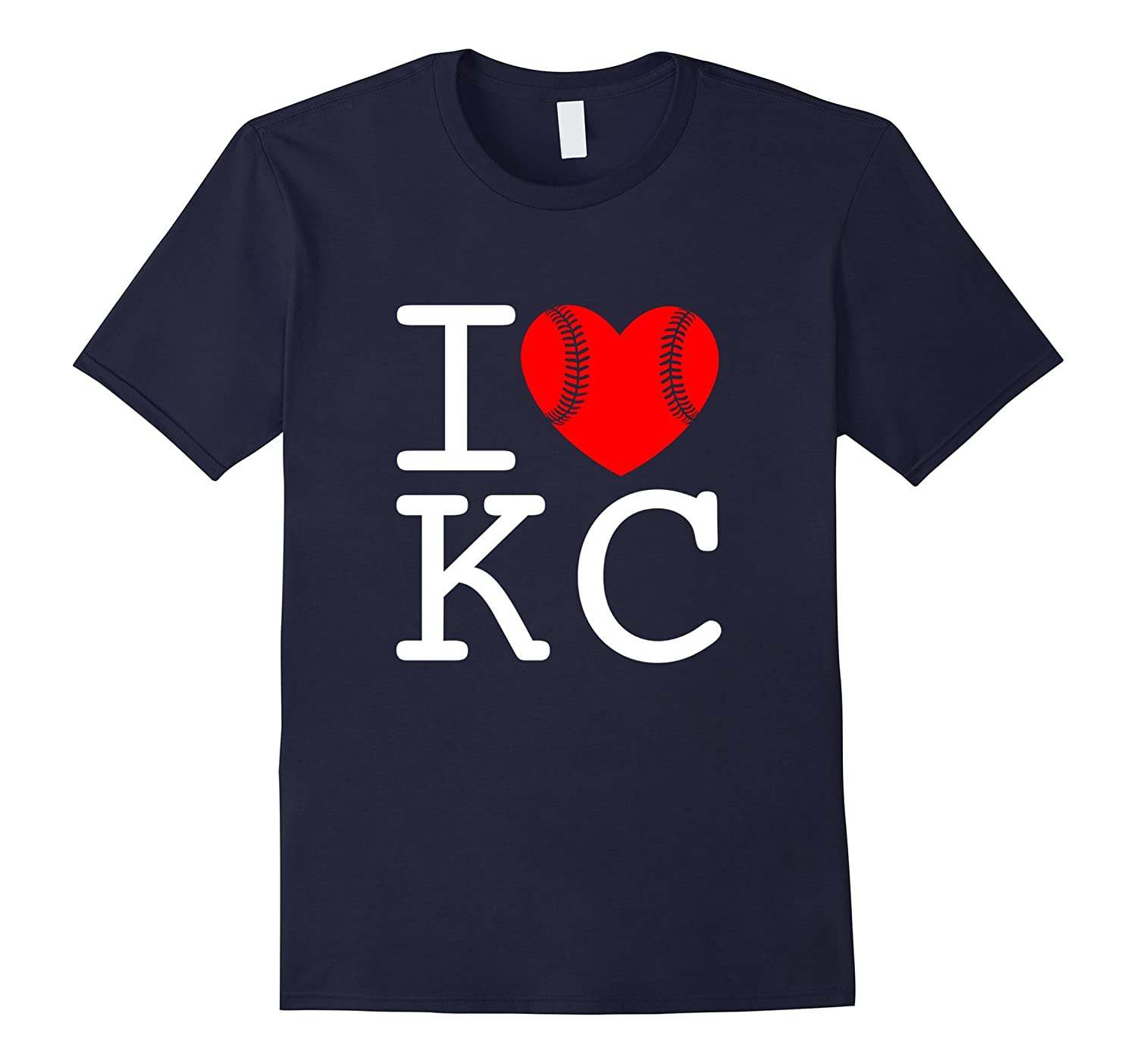 KC Heart Love Kansas City T-Shirt-PL